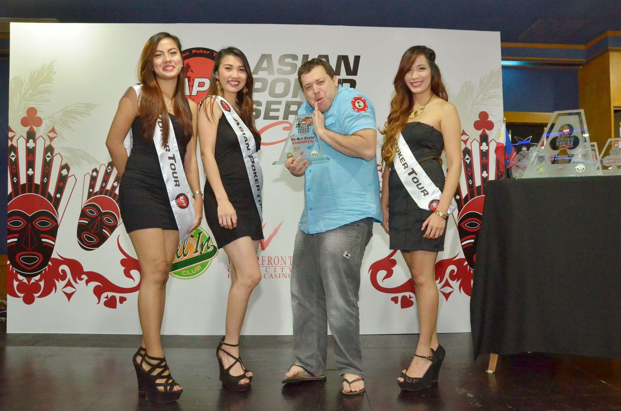 Tournaments in Asia: APT Cebu, ACOP Platinium Macau, Aussie Millions, APPT Seoul