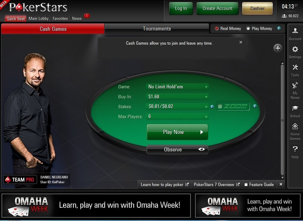 Pokerstars Latest: Rake change & Team pro