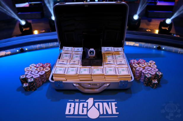 Who won the most money at poker in 2014?