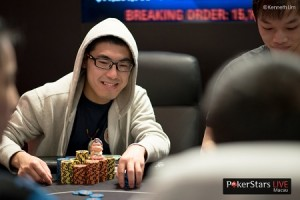 MPC24 final table chip leader liang xu
