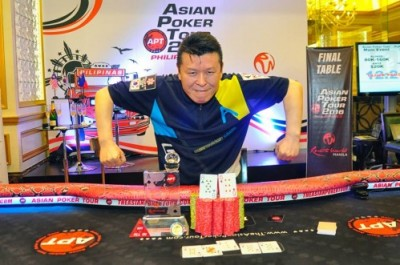 Asian Poker Tour winner