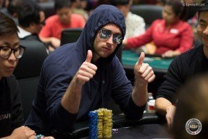 2015 ACOP Main Event: 23 players left, Connor Drinan chip leader