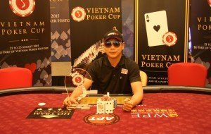 Hai Nguyen wins the first edition of the Vietnam Poker Cup