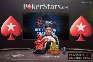 China's Yue Feng Pan wins the Red Dragon