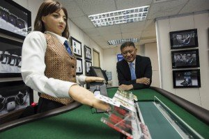 Will Robotic Dealers Eventually Replace Humans?