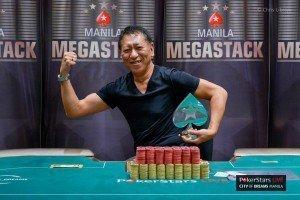 Tetsuya Tsuchikawa Wins Manila Megastack 4