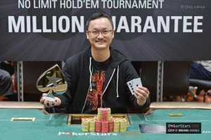 PokerStars Live Manila P1M Guarantee – Wang Ping Yuan takes the win