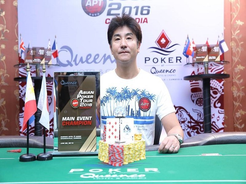 Japan's Hisashi Ogi wins the APT Cambodia Main Event