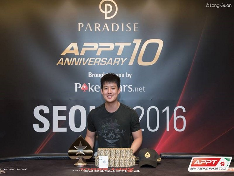 APPT Seoul: Final Table Set, Aaron Lim wins the High Roller