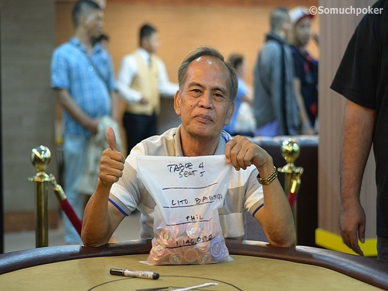 MIKES ROOM's 2M for 2K: 27 remain, Lito Bautista is chip leader