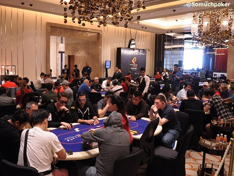 78 players will return for Day 2 of the PKC Main Event