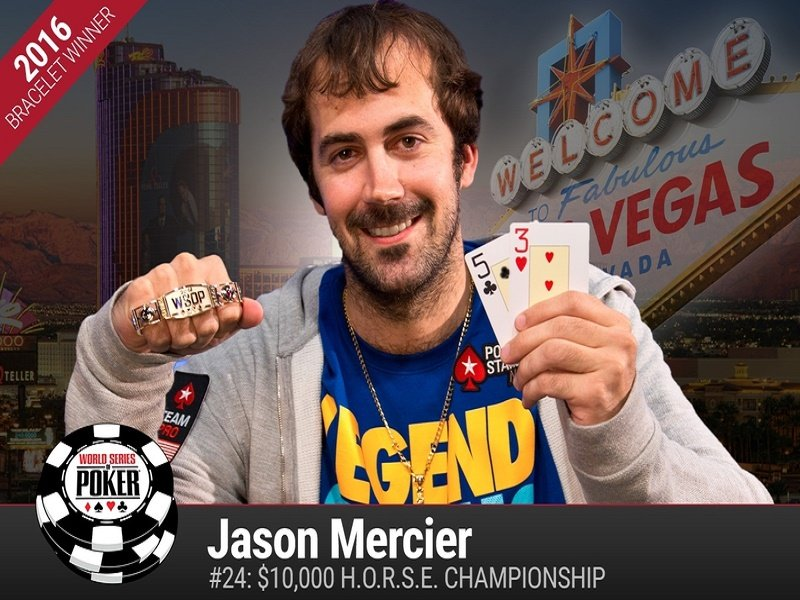 WSOP: Mercier claims double gold while Holz bags a 3rd High Roller