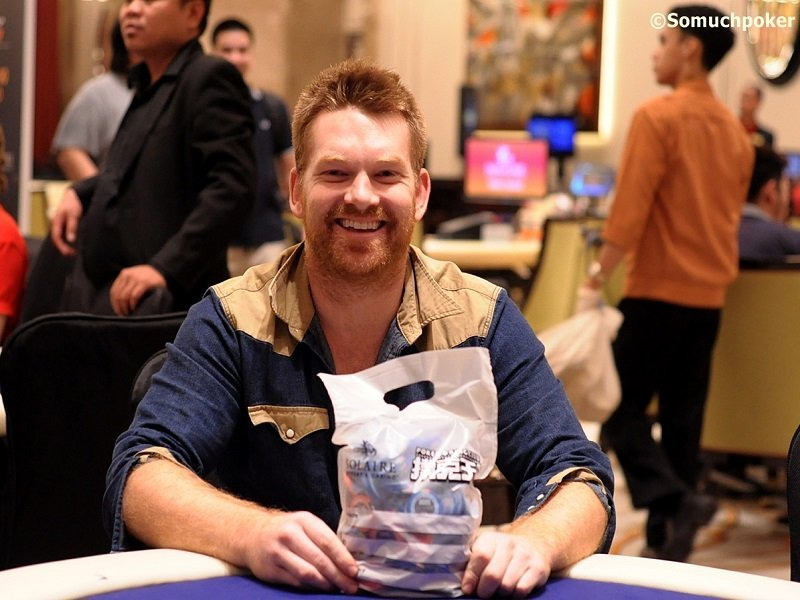 PKC Main Event Day 2: Paul Hockin bags over 1M chips