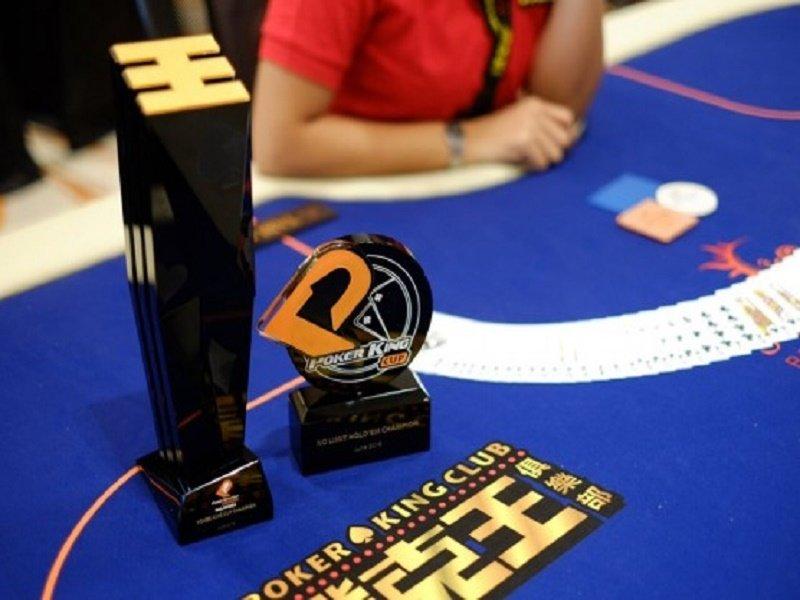 Poker King Cup trophy