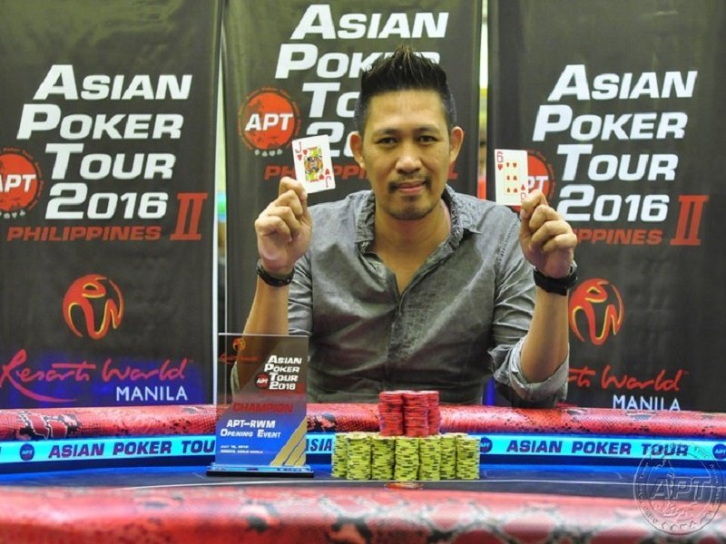 APT Philippines back in RWM;  Richard Marquez wins the opening event