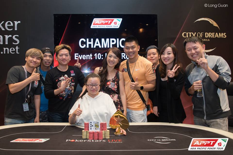 APPT 10 Manila HIGH Roller WInner