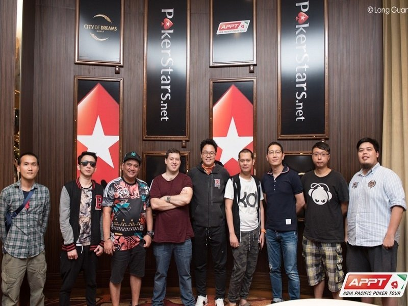 Pros of Asia dominate the Final 9 of the APPT10 Manila Main Event