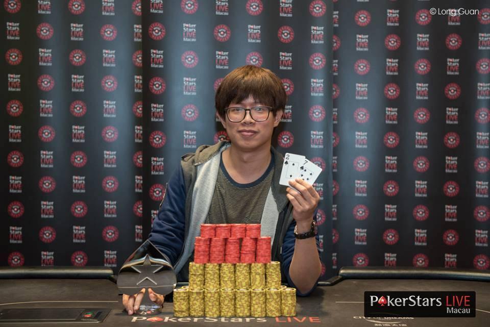 Jack Wu (Photo Long Guan Courtesy of PokerStars)