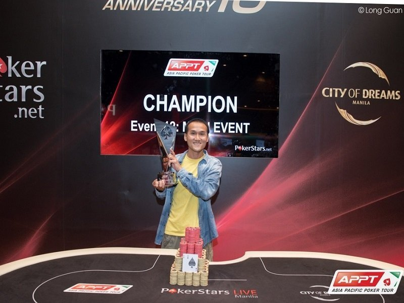 Giant victory for Linh Tran at the APPT 10 Manila Main Event