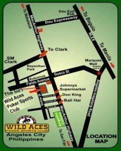 Wild Aces Map 239x300