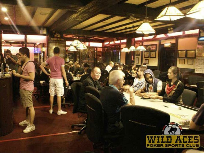 Wild Aces Poker Sports Club Angeles