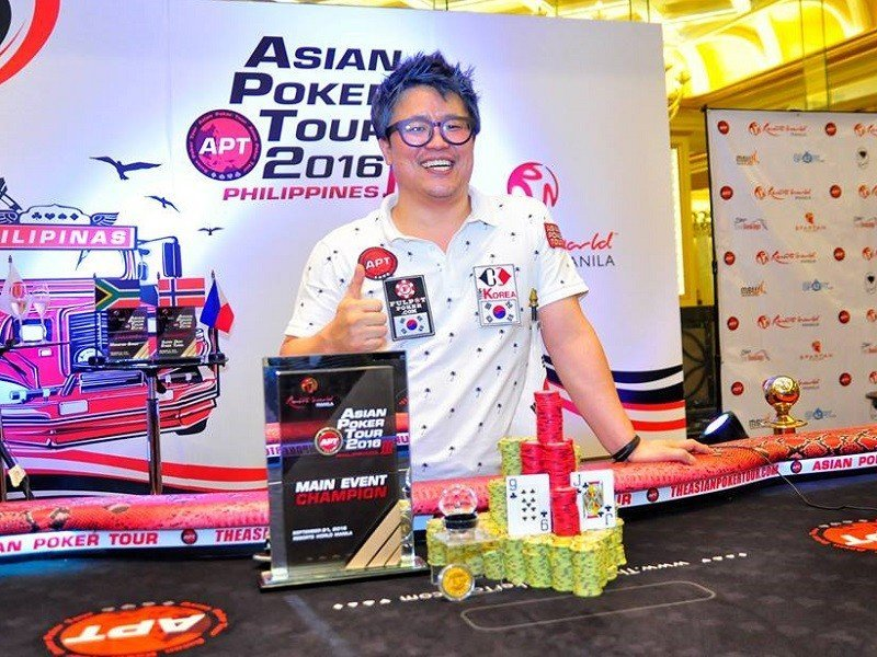 Korea's In Chul Sin wins the APT Philippines III 2016 Main Event