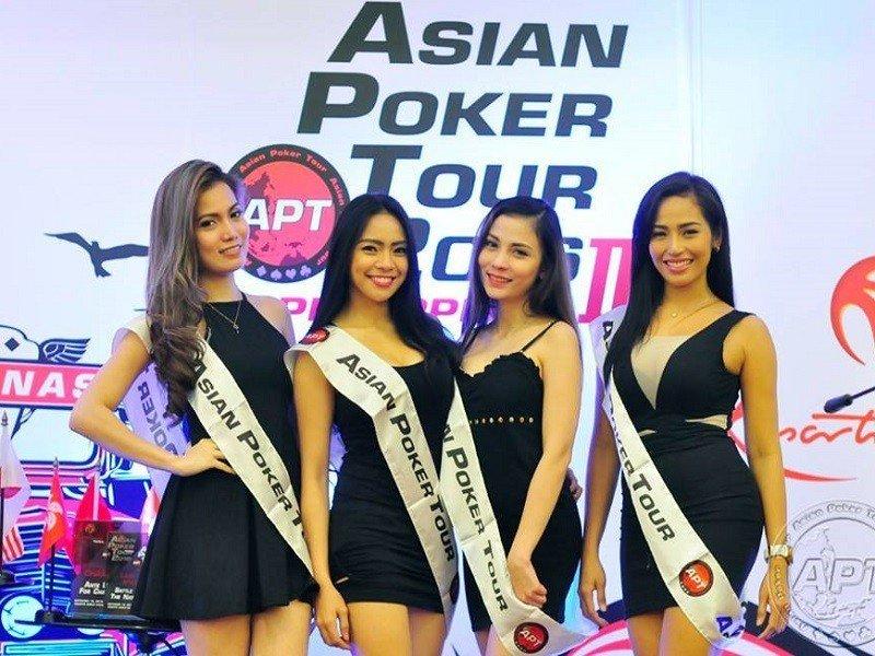 Filipino poker players