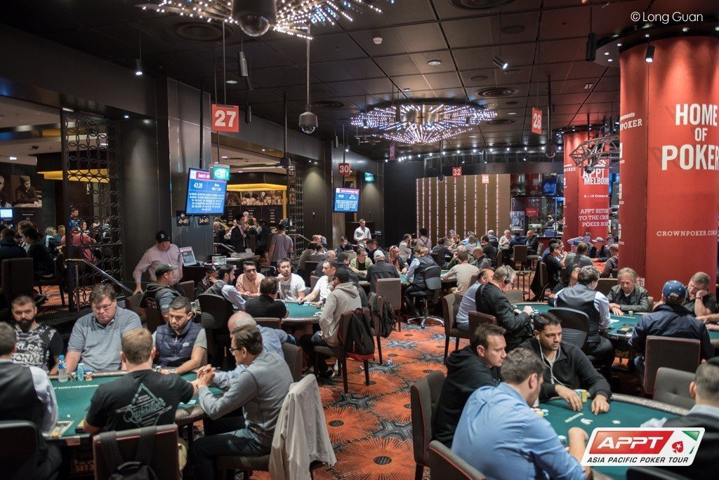 APPT Melbourne Main Event: Day 2 Completed – Tristan Bain Leads