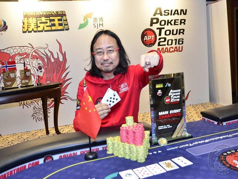 Chinese Pro Guo Dong wins the APT Macau Main Event