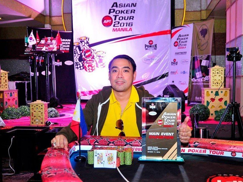 Alexis Lim bags his biggest live score at the APT Manila Main Event