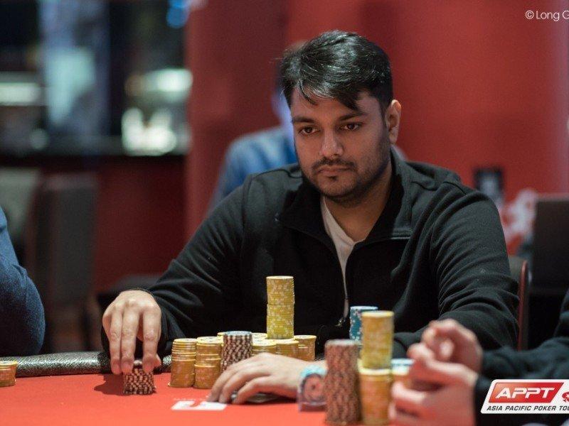 Ashish Gupta (Photo Long Guan, Courtesy of PokerStars)