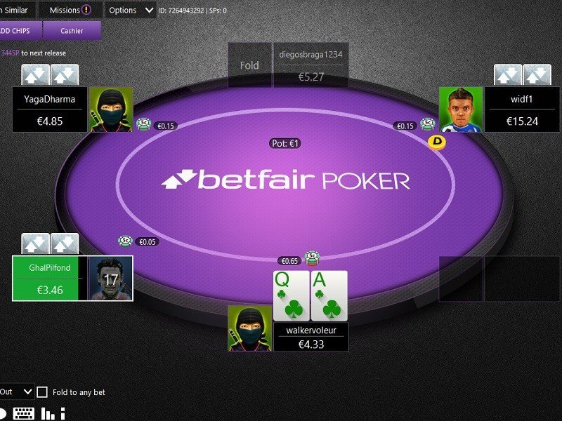 Private Freeroll on Betfair: €100 prize pool, No deposit needed