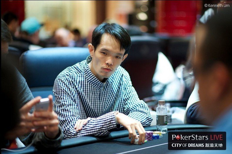 "Chun Lei ""SamRostan"" Zhou (Photo Kenneth Lim Courtesy of PokerStars)"