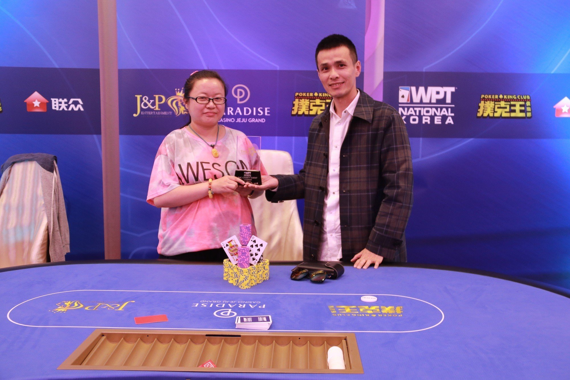 WPT Korea takes off; Li Yan wins THC Charity Event