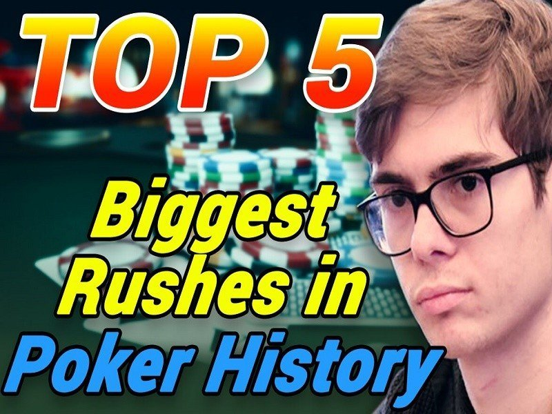 TOP 5 Biggest Rushes in Poker History