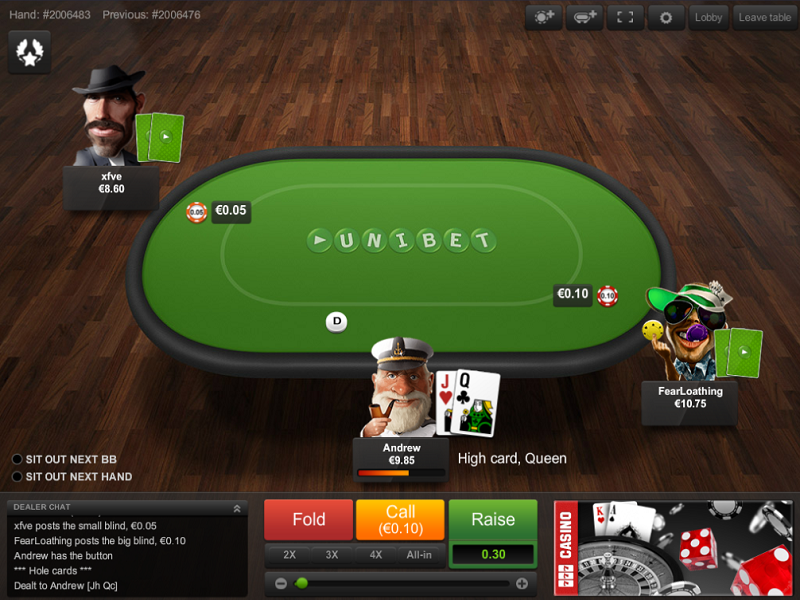 Fish First: Looking at Unibet's winning bet