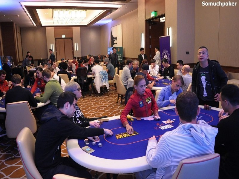 Triton Super High Roller Series Main Event by the Numbers