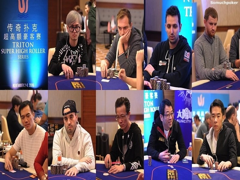 Triton SHR Main Event: Presenting the Final Nine players