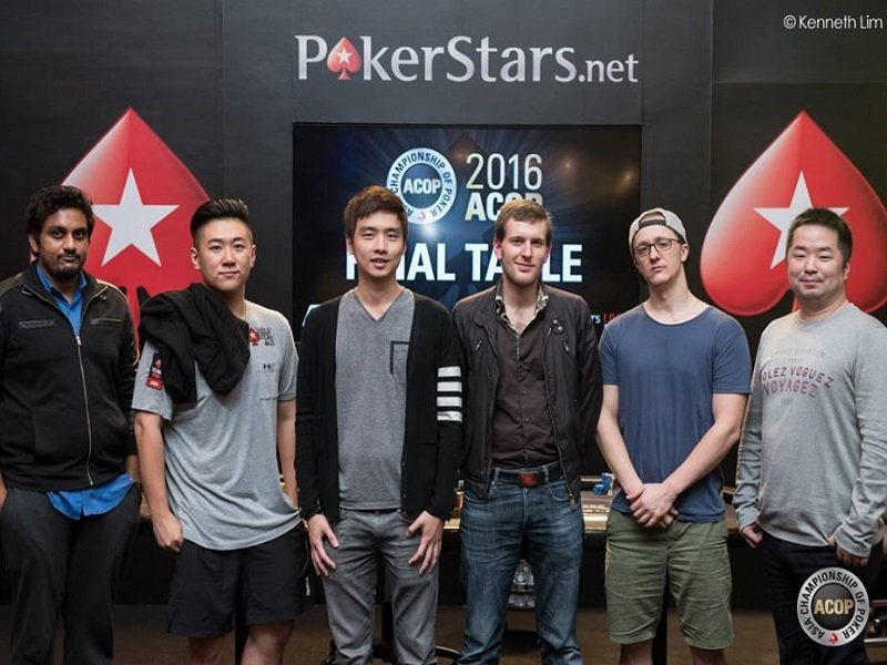 ACOP Final 6: Battle of Stars on the Main Event Final Table