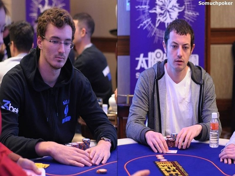 Sontheimer leads Day 1 of the Triton SHR Main Event followed by Dwan