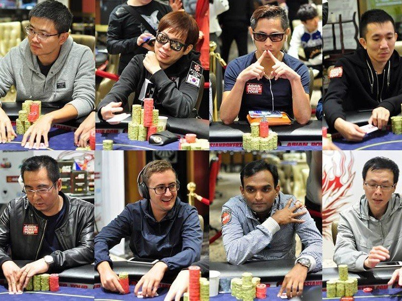 APT Finale Macau reaches Final 8 of the Main Event