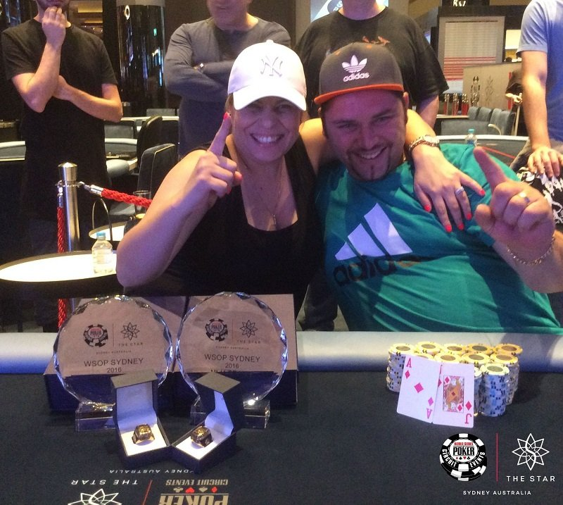 Michelle and George Psarras (Photo Star Poker)