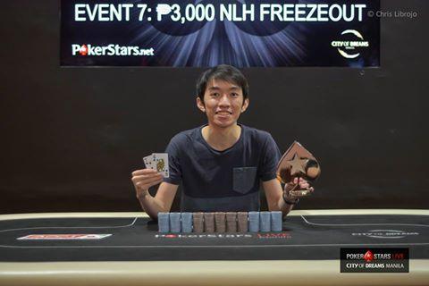 Ming Ken Thoo (Photo PokerStars)