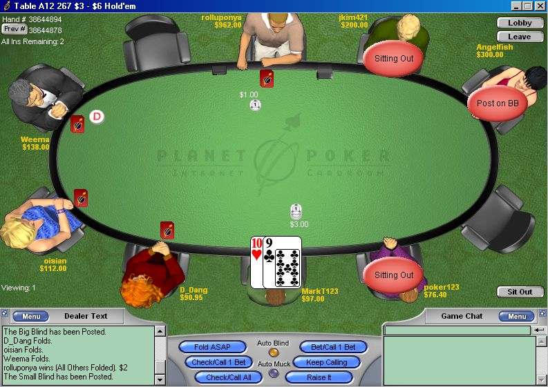 Satellite poker term