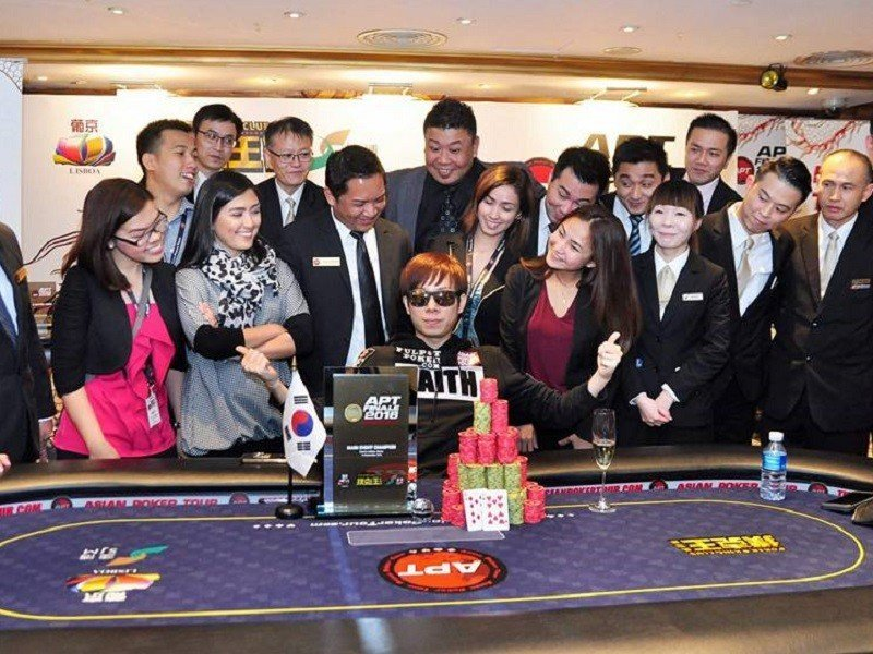 Korea's SJ Kim seizes the APT Finale Macau Main Event title