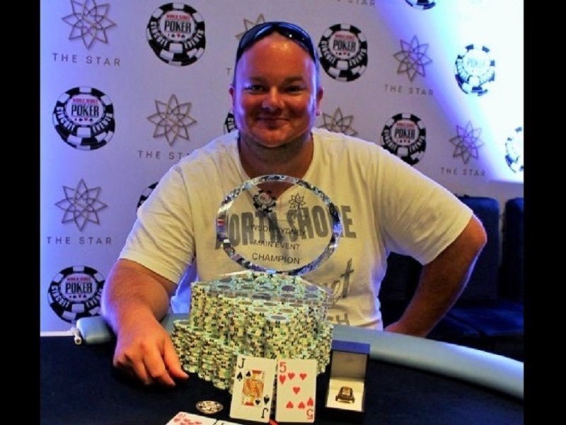 Joel Dodds wins the WSOP Sydney Main Event