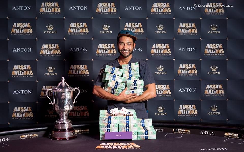 Aussie Million Main Event winner