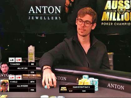 Aussie Millions Main Event: Fedor Holz among the 7 finalists