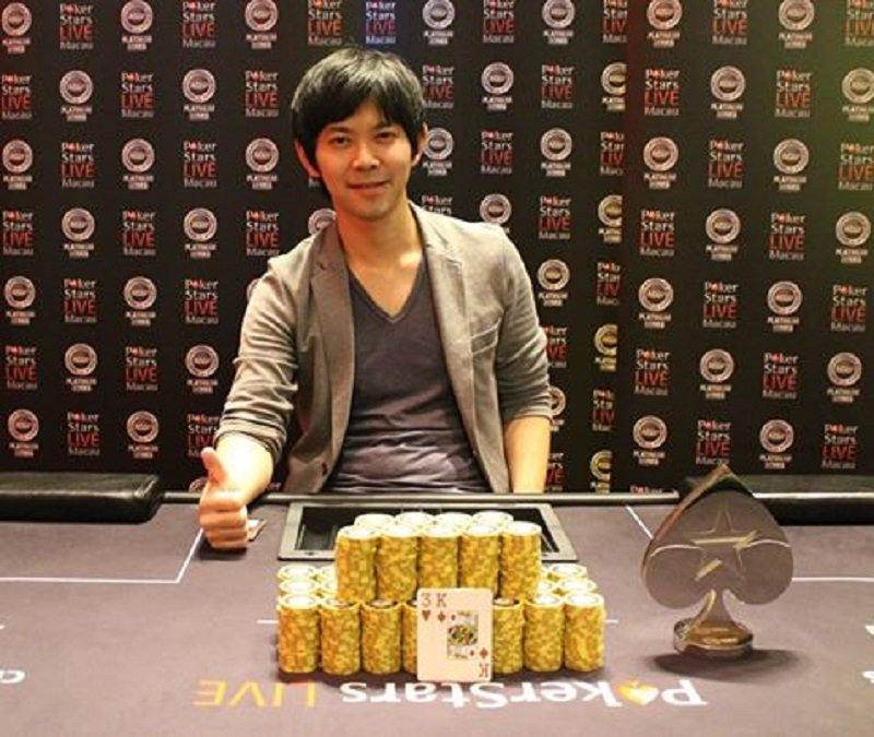Kenjiro Hinomoto (Photo Pokerstars)