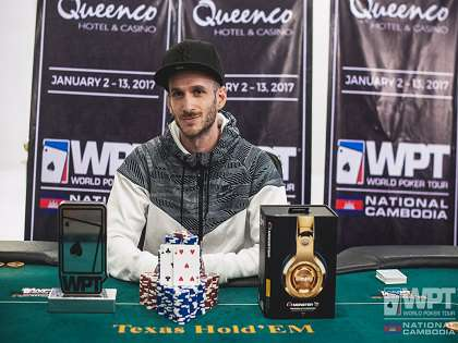 Benjamin Gonzva  claims victory in the WPT Cambodia Main Event